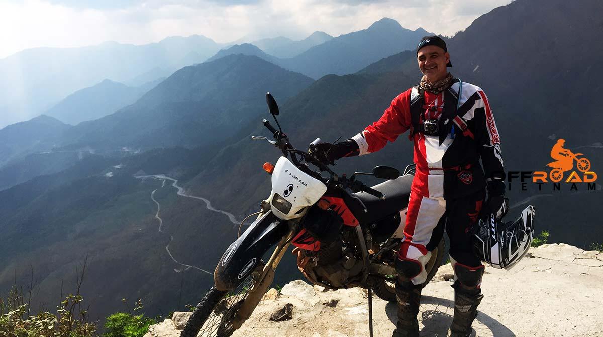 Motorbike Vietnam Adventure Tours - Full North Loop: Sapa by motorbike Honda XR250.