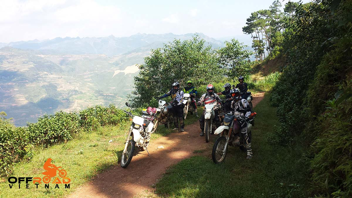 Motorbike Vietnam's Ho Chi Minh Trail Motorcycle Voyage by Honda off-road motorbike XR150L, CRF150L and CRF250L.