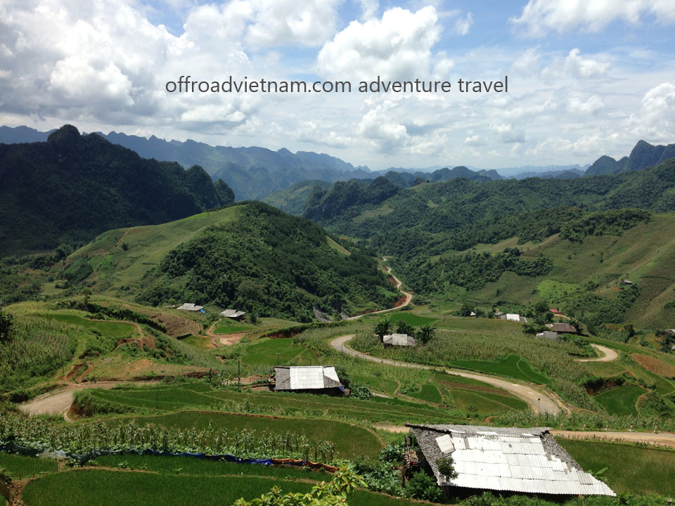 Northeast, North-East Vietnam ride with Motorbike Vietnam. Motorbike Vietnam Adventure Tours - North-East Ride