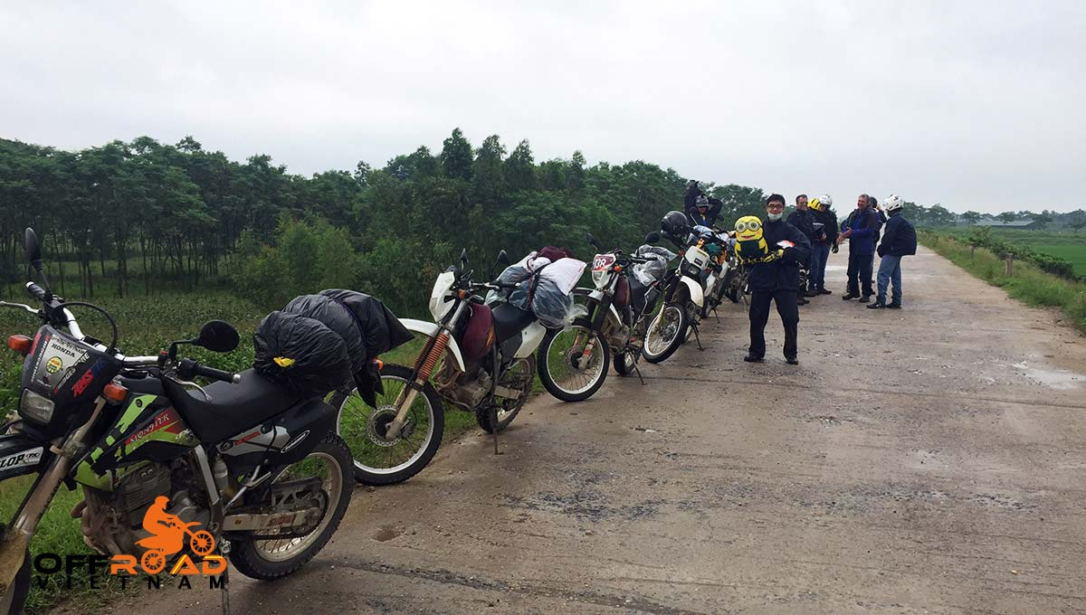 Motorbike Vietnam's One Day Motorbike Tour by Honda off-road motorbike XR150L, CRF150L, XR250 and CRF250L.