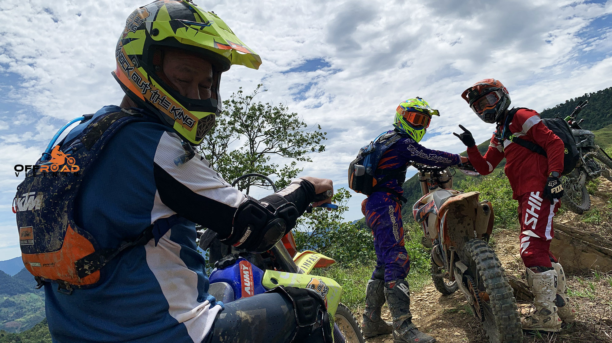 Join a group and have fun on a Vietnam motorbike tour