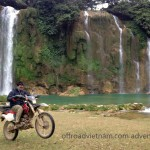 Vietnam dirt bike tour to Ban Gioc waterfalls