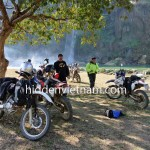 Vietnam dirtbike tour in Cao Bang